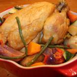 Chicken roasted in Ownsworth's Rapeseed Oil
